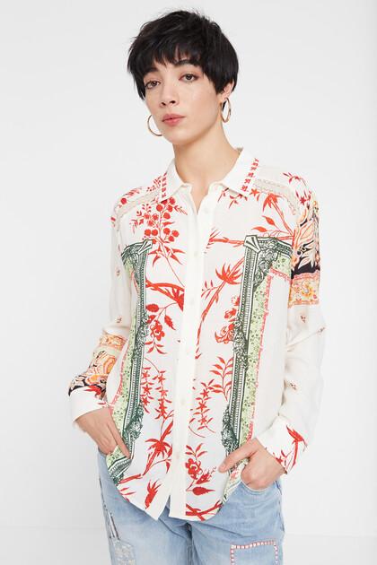 Hindu print shirt