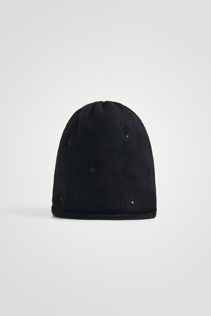 Bonnet calotte en maille