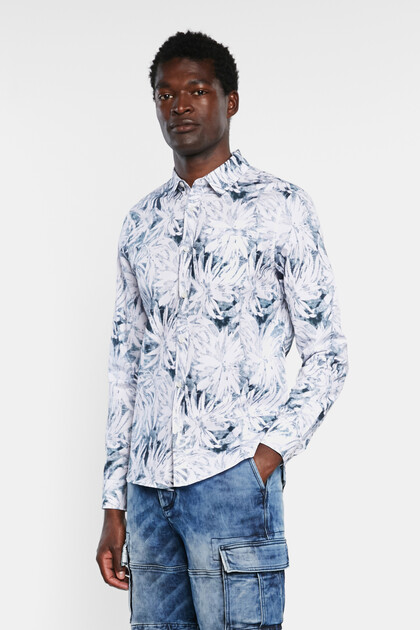Tropical shirt 100% cotton