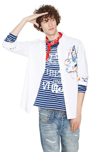 Shirt Blanc