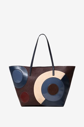 Geometric shopping bag