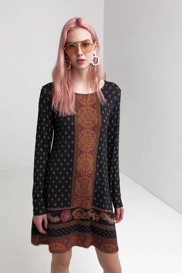 Drop waist boho dress | Desigual