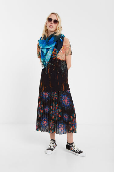 Watercolour effect foulard | Desigual
