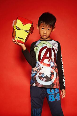 Avengers-Langarmshirt