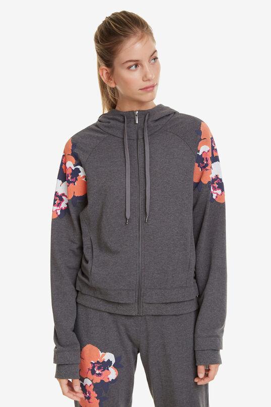 Sweatshirt Camo Flower   Desigual
