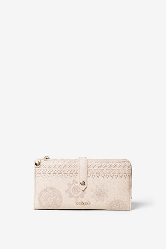 White Rectangular Purse Esther