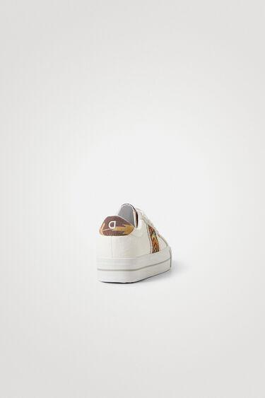 Sneakers semelle épaisse ethniques | Desigual