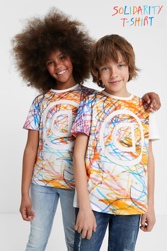 T-shirt bolimania multicolor