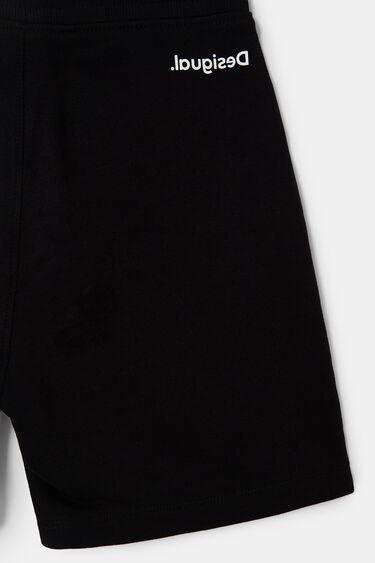 Korte velours broek | Desigual