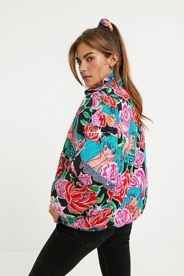 Short print jacket | Desigual