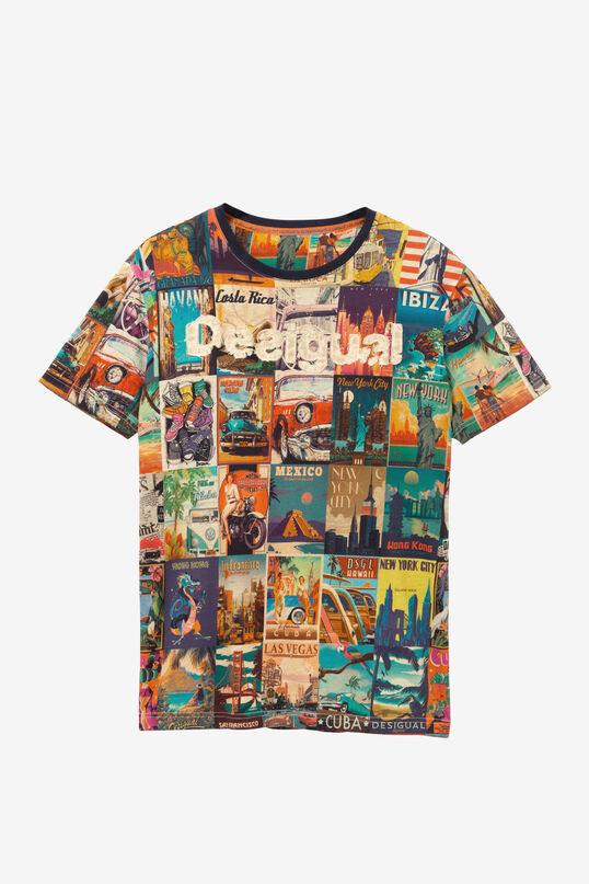 Postcards T-shirt Erenesto | Desigual