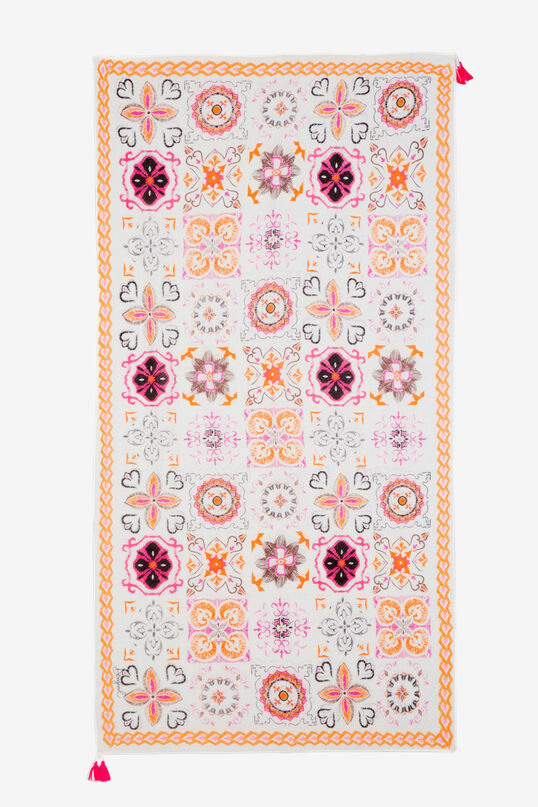 Foulard plisado azulejos Rajoles | Desigual