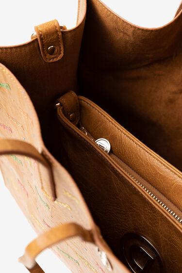 2 in 1 bag in multicolour logomania | Desigual