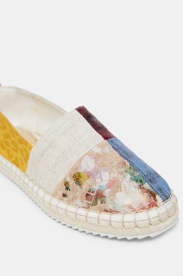 Espadrille sneakers patch | Desigual