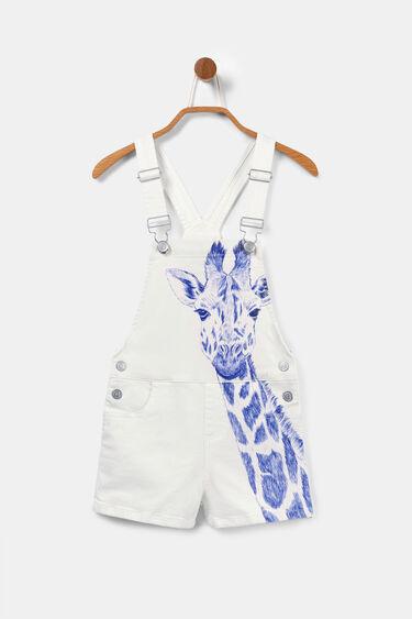 Peto texà blanc amb girafa | Desigual