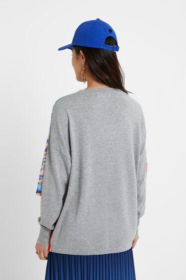 Arty drop shoulder tricot jumper | Desigual