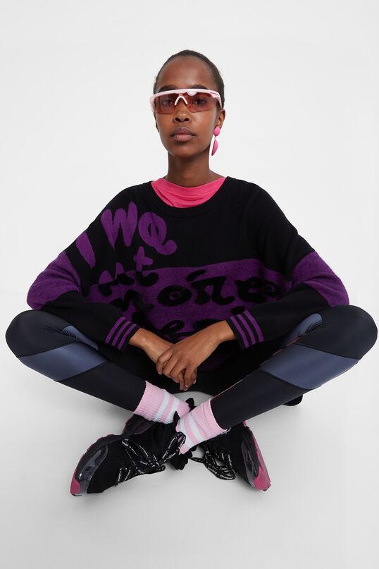 Oversize knit jumper | Desigual