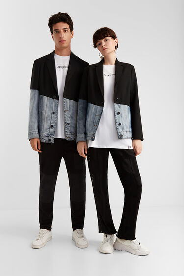 Hybrid blazer and sport jacket | Desigual