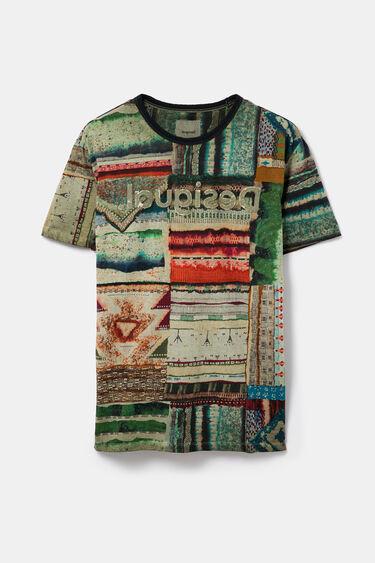 Ethnic patchwork T-shirt | Desigual