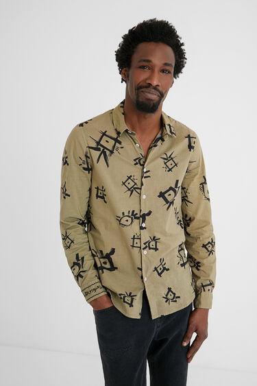 Hemd Baumwolle Aufdruck | Desigual