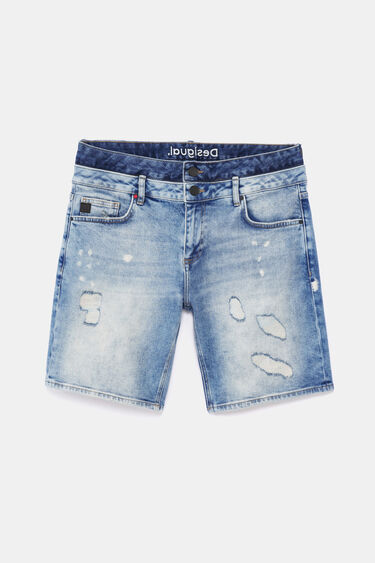 Denim Bermudas double waist | Desigual