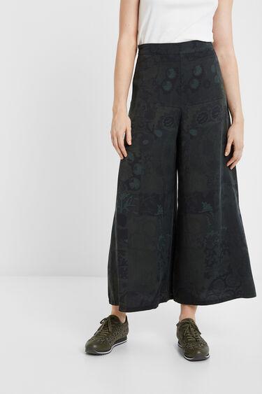 Pantalon palazzo boho | Desigual