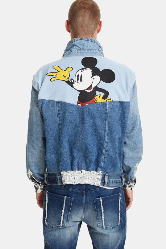 The Iconic Jacket Mickey Blue   Desigual