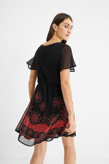Gauze belt dress | Desigual