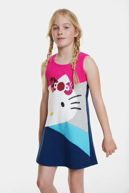 Vestito svasato Hello Kitty