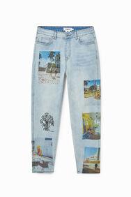 Straight unisex jeans South Beach | Desigual