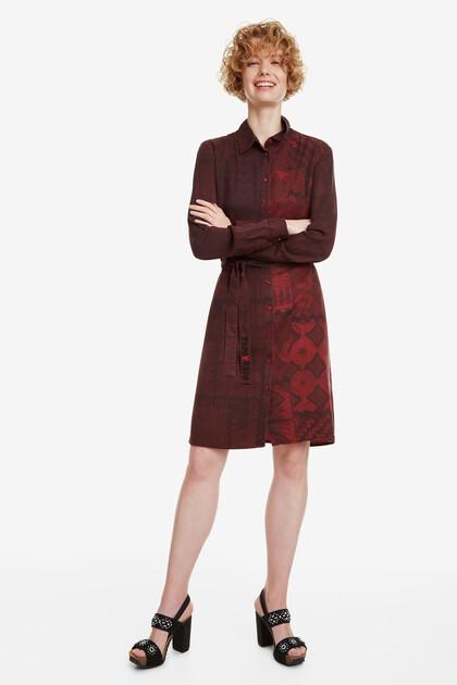 Patch Shirt Dress Erin