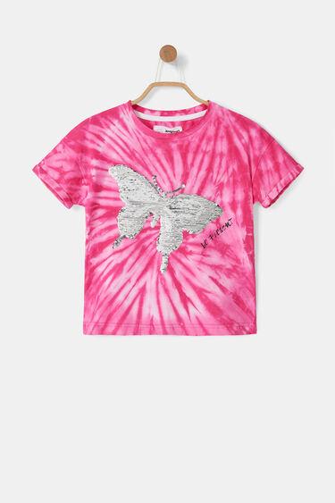 T-Shirt Schmetterling Wende-Pailletten | Desigual