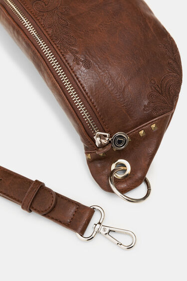 Synthetic leather sling bag | Desigual