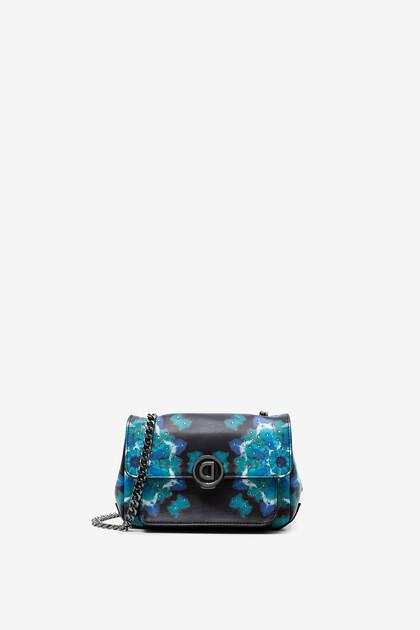 Mini-bag with mandalas watercolour effect