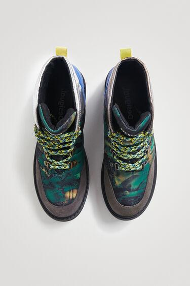 Biker trekking shoes | Desigual