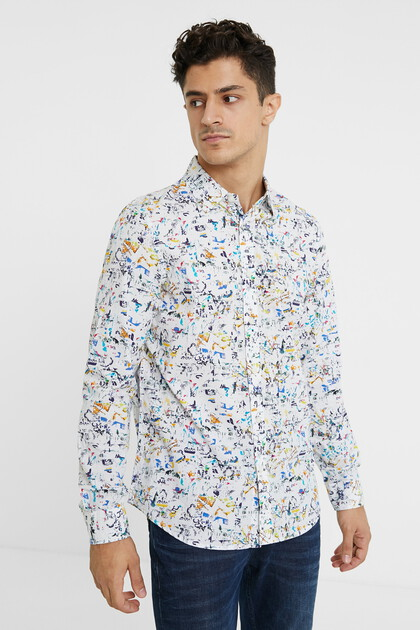 100% cotton arty shirt
