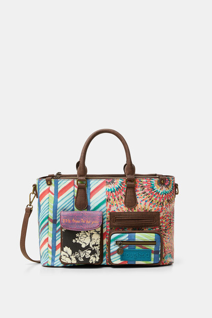 Multiprint handbag