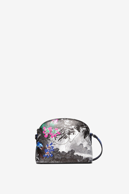 Landscape and floral sling bag