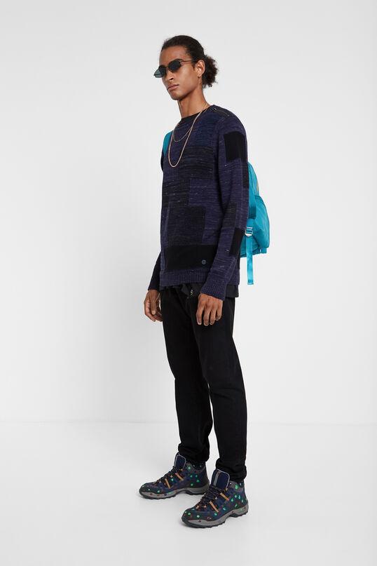 Pull à manches longues en tricot | Desigual
