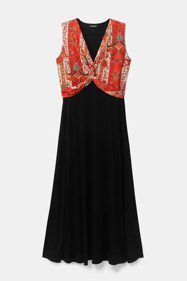 Vestido largo étnico | Desigual