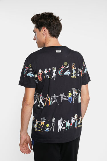 Arty T-Shirt 100% Baumwolle | Desigual