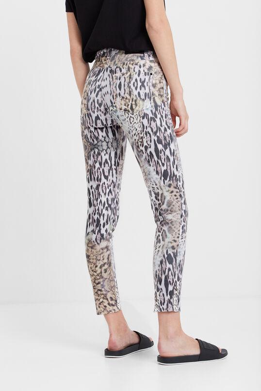 Pantalons slim animal print   Desigual