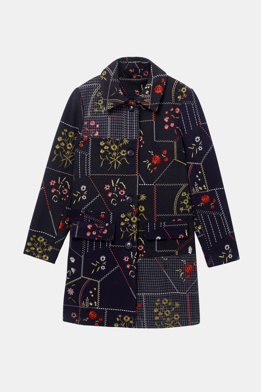 Und Blumen Mantel Patches Mit JTl1Fu3Kc