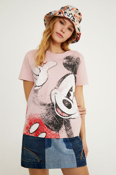 Mickey Mouse T Shirt 100 Cotton Desigual Com