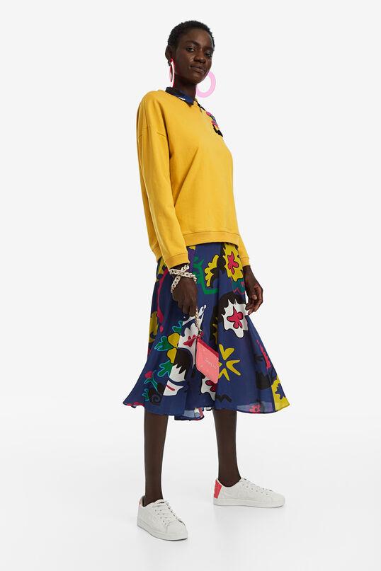 Sweatshirt with Love embroidery | Desigual