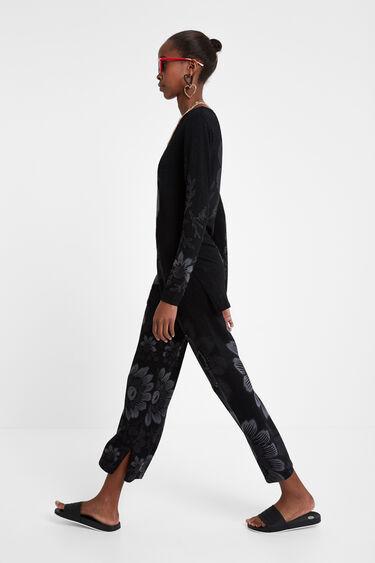 Boho-Pullover mit Gürtel   Desigual