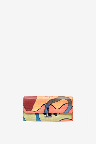Arty rectangular coin purse
