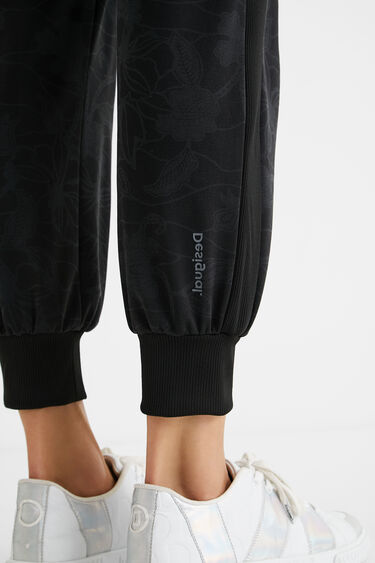 Floral jogger trousers | Desigual