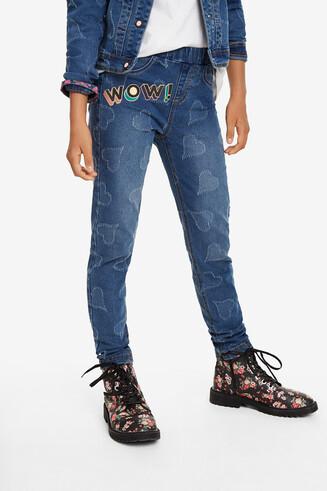 Jegging basique coeurs jean