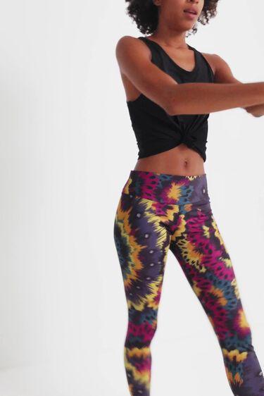 Slim galactic sport leggings | Desigual